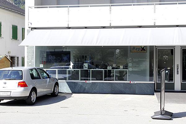 shop front ansicht